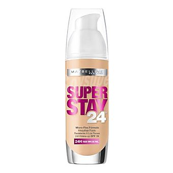 Maybelline New York Maquillaje fluido super stay 24h nº 21 nude 1 ud
