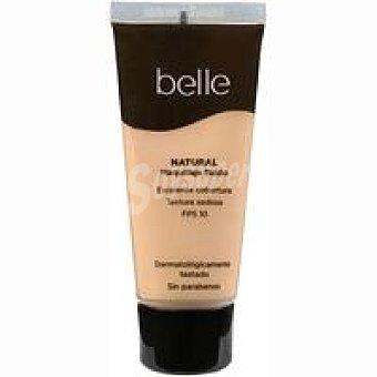 Belle Maquillaje fluido natural 02 belle & Pack 1 unid