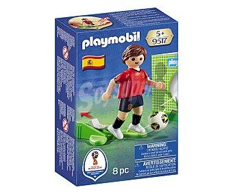 Playmobil Figura jugador de fútbol selección de España, Mundial Rusia 2018, 9517 PLAYMOBIL.