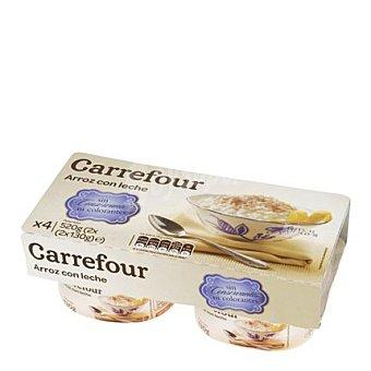 Carrefour Arroz con leche Pack de 4x130 g