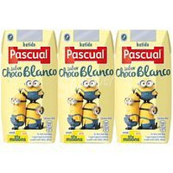 Pascual Batido de chocolate blanco Pack 3x200 ml