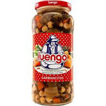 Luengo Combinado de garbanzos Frasco 570 g