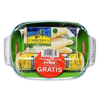 Pyrex Lote esparrágo blancos 6/8 Carretilla 390 g. + 2 Mayonesa Ybarra 225 ml. 1 ud