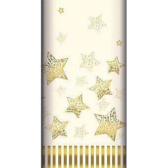 Papstar mantel Sparkling Stars 120x180 1 unidad
