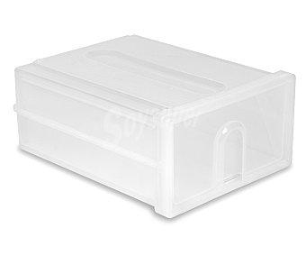 ARAVEN Caja de ordenación con un cajón de 35x26x14.5 centímetros y color blanco 1 Unidad