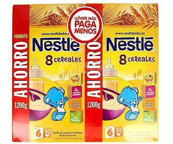 Nestl papilla de 8 cereales para beb s a partir de 6 - Cereales bebe 5 meses ...