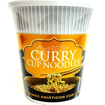 Tiger Khan Tallarines asiáticos con curry Envase 60 g
