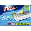 Lomos de merluza 4-5 piezas  Estuche 400 g (neto escurrido) Pescanova