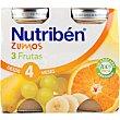 Zumo de 3 frutas Pack 2x130 ml Nutribén