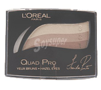 L'Oréal Sombra de ojos quad pro 317 brun mordore 1 sombra de ojos