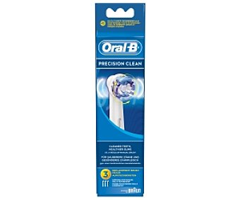 ORAL-B PRECISION CLEAN Recambio cepillo dental profesional 3 Unidades