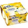 yogur sabor limón pack 4 unidades 125 g La Lechera Nestlé