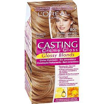 Casting Crème Gloss L'Oréal Paris tinte Blond Satine nº 801 caja 1 unidad