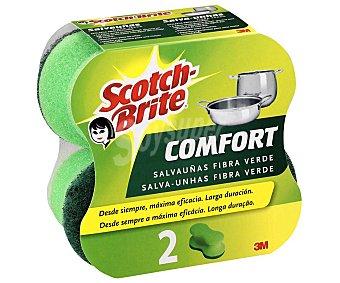 Scotch Brite Estropajo con esponja confort Pack 2 uds