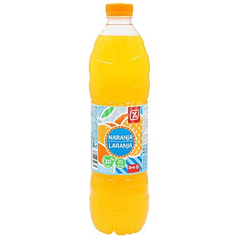 DIA Refresco sin gas naranja Botella 1.5 lt