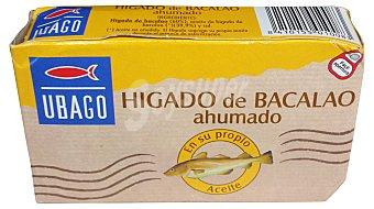 Ubago Hígado de bacalao ahumado 121 g