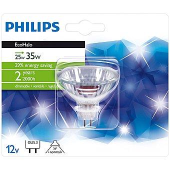PHILIPS Ecohalo 25 W (35 W) lámpara eco halógena GU5.3 12 V