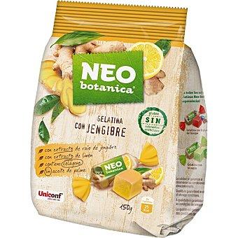 Neo Caramelos de gelatina con extracto de raíz jengibre y limón con colágeno y sin gluten botanica Bolsa 150 g