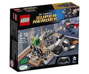 LEGO Juego de construcciones con 92 piezas Choque de héroes, ref. 76044, incluye 2 figuras Dc Cómics 1 unidad