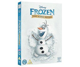 ANIMACIÓN Película Disney en Dvd Frozen. El reino del hielo, versión Sing along Género: Animación. TP