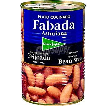 EL CORTE INGLES fabada asturiana  lata 435 g