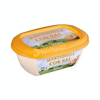 Hacendado Mantequilla con sal Tarrina 250 g