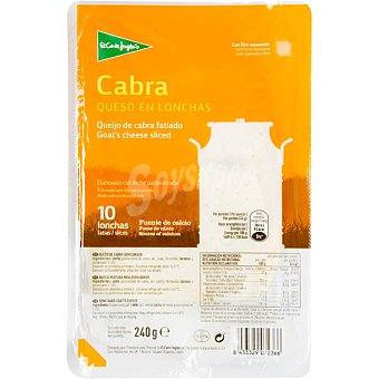 ALIADA queso de cabra en lonchas  envase 200 g