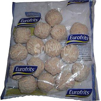 EUROFRITS Albondigas de pollo Bolsa 400 g
