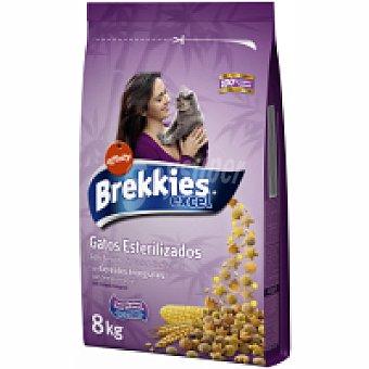 Brekkies Affinity  Cat Dry para gatos esterilizados 8 kg