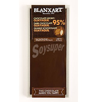 BLANXART Chocolate 95% guayaquil 100 g