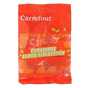 Carrefour Corazones de melocotón 200 g