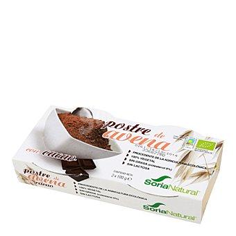 Soria Natural Postre de avena con cacao eco 200 g