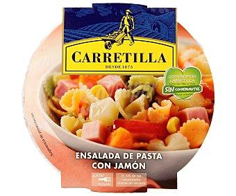 Carretilla Ensalada de pasta con jamón Tarrina 240 g