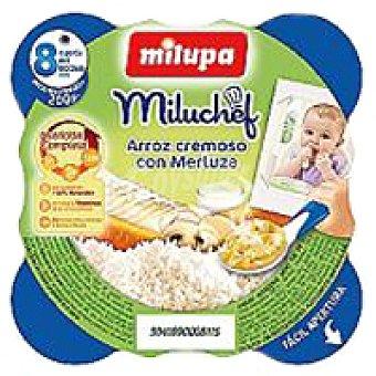MILIPA Miluchef de merluza-arroz Plato 200 g