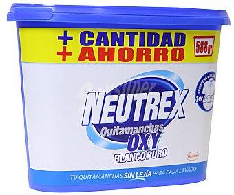 NEUTREX Quitamanchas blanco puro  bote 18 dosis