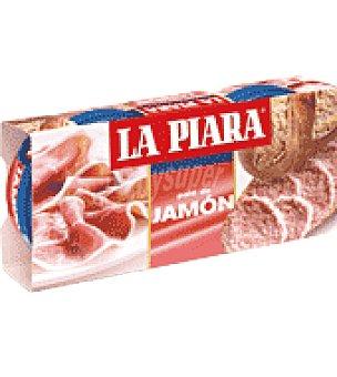 La Piara Paté de jamón 168 g