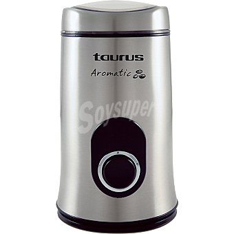 Taurus Aromatic New Molinillo de cafe en acero inoxidable