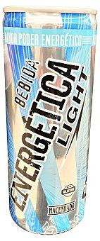 Hacendado Bebida energética light Lata de 250 cc