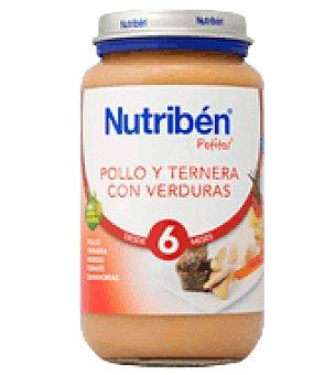 Nutribén Potito Pollo, Ternera y Verduras 250 g