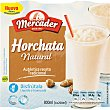 horchata natural granizada pack 4 unidades 200 g (800 ml) MERCADER