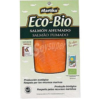 MARTIKO Eco-bio Salmón ahumado Sobre 80 g