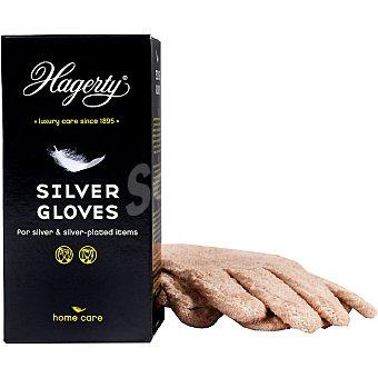 HAGERTY Guante limpia plata Silver Gloves Caja 2 unidades