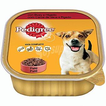 PEDIGREE Alimento para perro con buey e hígado especial adulto  Tarrina de 300 g