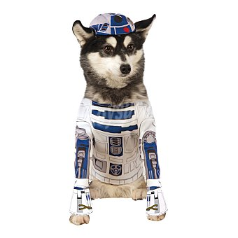 Rubie's Disfraz R2-D2 para perros talla S 36x28 cm 1 unidad