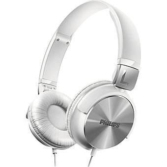 Philips Auriculares tipo DJ en color blanco 1 Unidad