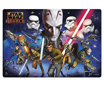 ERIK Tapete escolar con los personajes de la serie de animación Star Wars Rebels de 34.5x49.5 centímetros 1 unidad