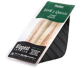 Lord Sandwiches Sándwich de paleta de cerdo y mezcla de 3 quesos 194 gramos