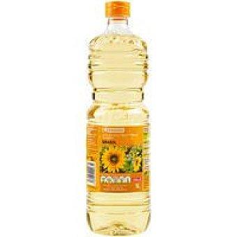 Eroski Aceite de girasol Botella 1 litro