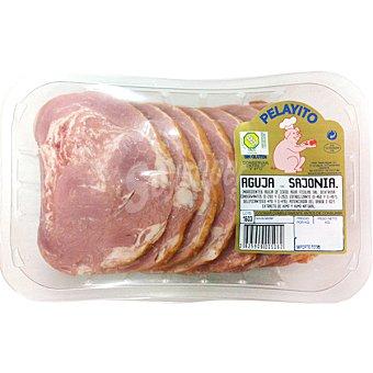 PELAYITO Chuletas de Sajonia peso aproximado Bandeja 600 g