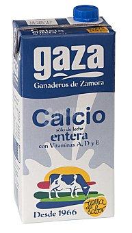 Gaza Leche Entera Calcio Brik 1 litro